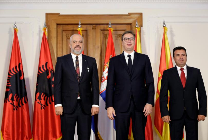 снимка 3 Започва тристранна среща Вучич – Рама – Заев в Нови Сад