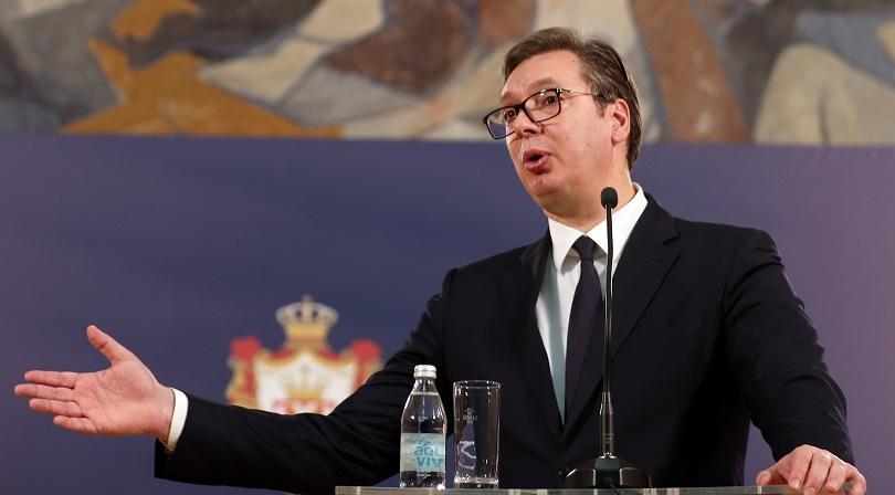 Сръбският президент Александър Вучич заяви, че външният министър на Косово