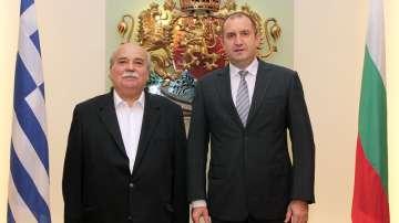 Председателят на гръцкият парламент на посещение у нас