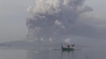 Изригна вулканът Таал на Филипините