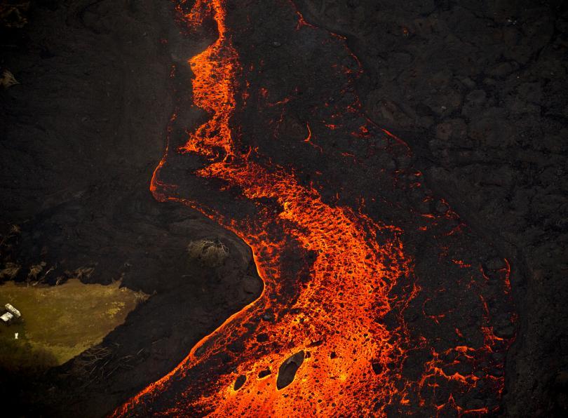снимка 2 Няма българи сред пострадалите при изригването на вулкана на Хаваите (СНИМКИ)