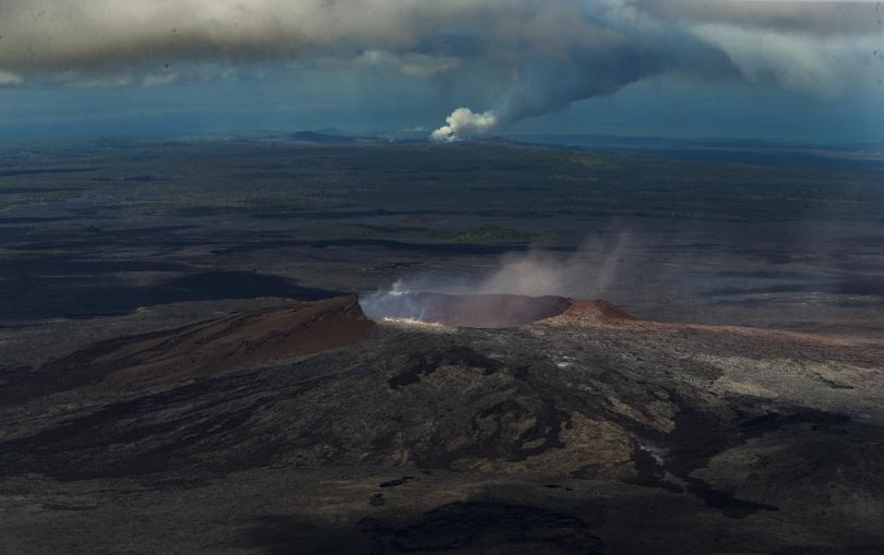 снимка 4 Няма българи сред пострадалите при изригването на вулкана на Хаваите (СНИМКИ)