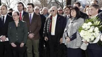 Възпоменателно честване на годишнината от спасяването на българските евреи