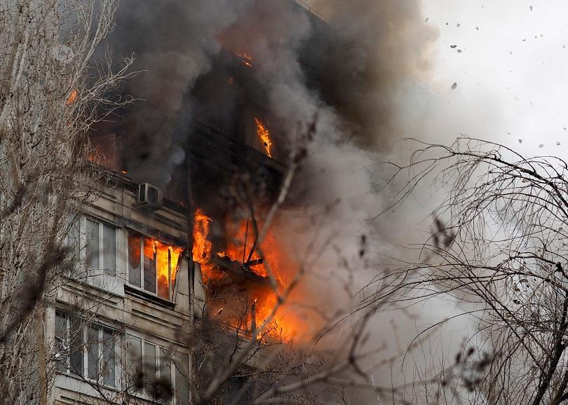 Взрив в жилищна сграда в Русия
