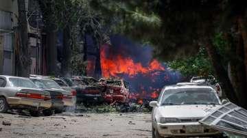 Силна експлозия разтърси центъра на Кабул