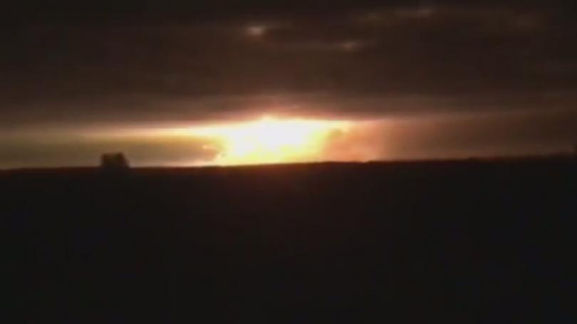 Няма жертви при експлозиите в украинския склад за боеприпаси