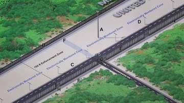 Започва изграждането на стената на границата между САЩ и Мексико