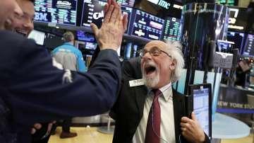 Зрелищно поскъпване на акциите на Уолстрийт