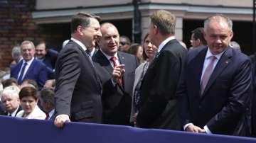 Втори ден от визитата на президента Румен Радев във Варшава