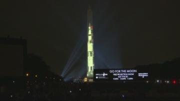 Монументът Джордж Вашингтон се превърна в ракета