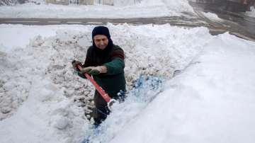 Снежна вълна в Западна Европа
