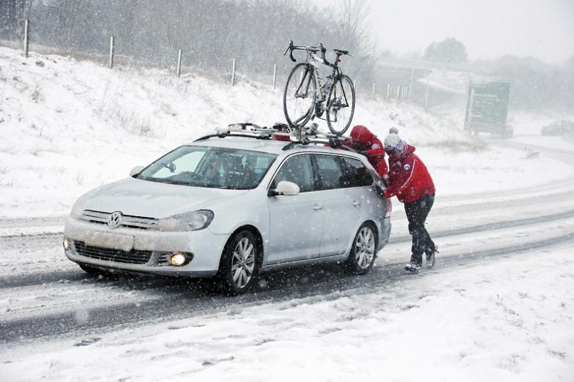 снимка 1 След краткото затопляне лошото време се завърна и в Европа