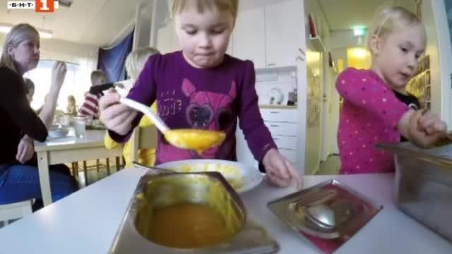 Денят на Св. Андрей Първозвани, финландска детска градина еспериментира с