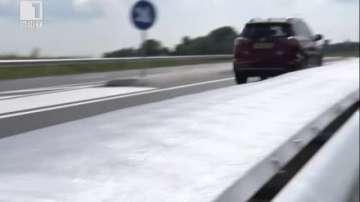 ДРУГИТЕ новини: Слънчеви панели на пътя