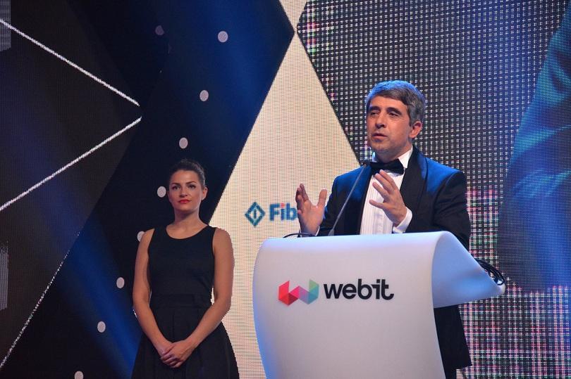 снимка 1 Президентът Плевнелиев бе удостоен със специалната награда на Webit