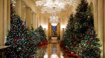 Мелания Тръмп представи коледната украса на Белия дом (ГАЛЕРИЯ)