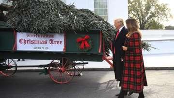 Пристигна коледното дърво за Белия дом