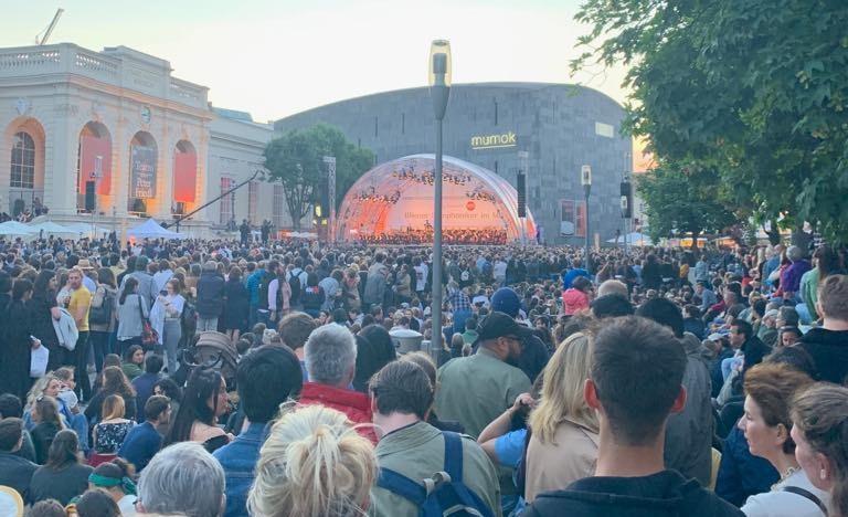 Концерт на Виенския симфоничен оркестър, 2019