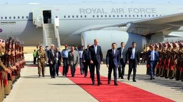 Принц Уилям пристигна в Йордания