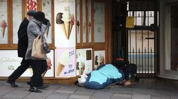 Гонят бездомните в Уиндзор заради кралската сватба