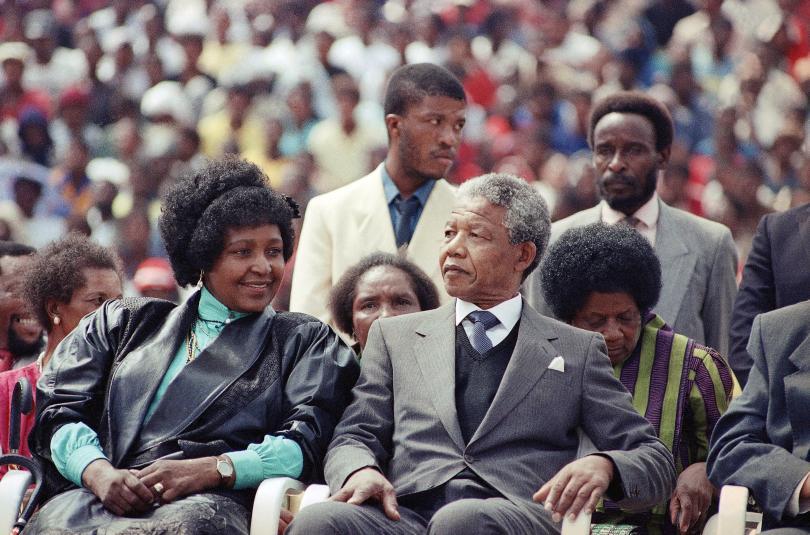 снимка 1 Почина бившата съпруга на Нелсън Мандела