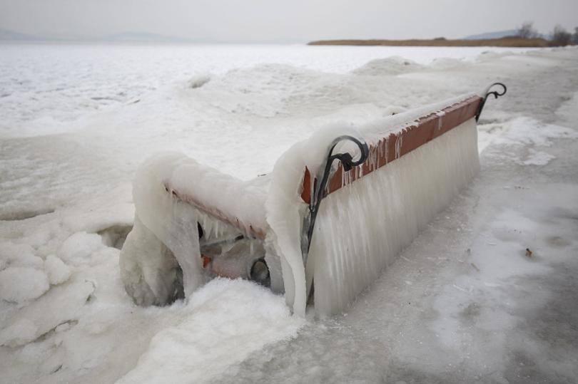 снимка 1 Студ и сняг в Европа