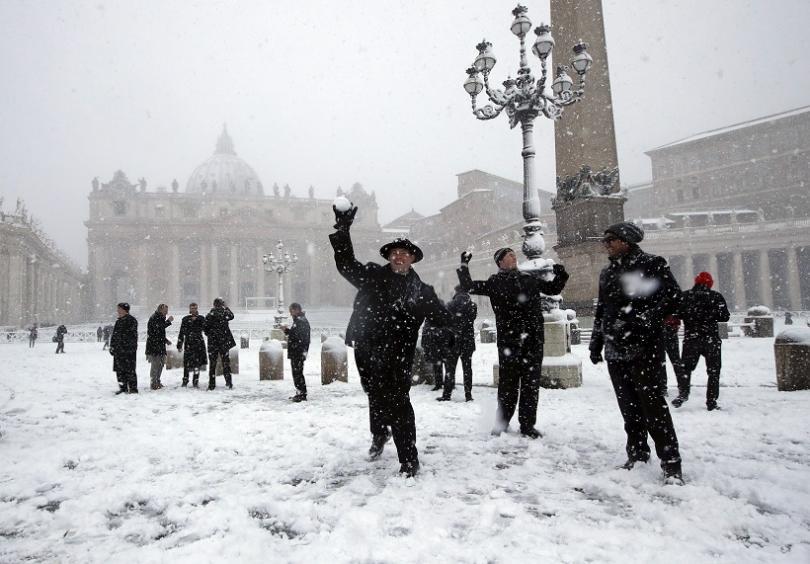 снимка 7 Студ и сняг в Европа