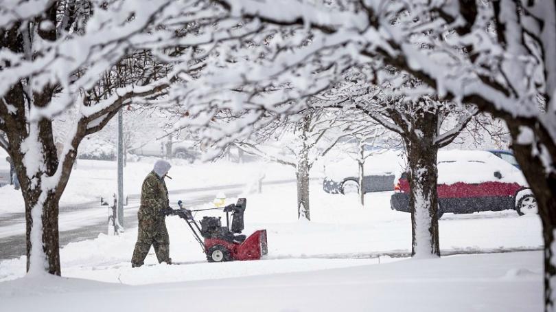 Снимка: Сняг и минусови температури по Източното крайбрежие на САЩ и Канада