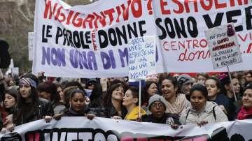 Жени протестираха за равноправие в Европа