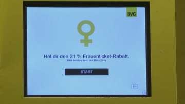 21% отстъпка за жените в градския транспорт на Берлин