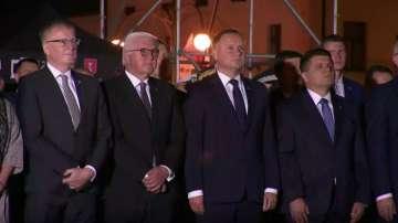 Германският президент се извини на Полша за Втората световна война