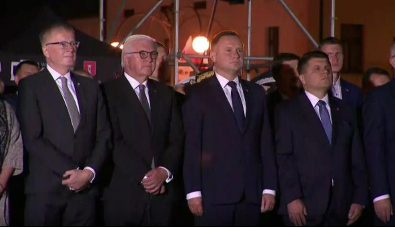Германският президент Франк-Валтер Щанмайер поиска от Полша прошка за най-кървавия
