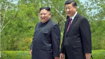Си Дзинпин и Ким Чен Ун обещаха да развиват отношенията между страните си