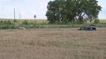 Двама души загинаха, а петима са пострадали при катастрофа на пътя Ямбол-Бургас