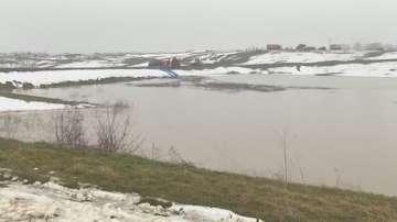 Бедствено положение в три врачански села заради преливане на язовир Рогозен