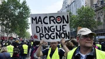 """25-а поредна събота на протести на """"жълтите жилетки"""""""
