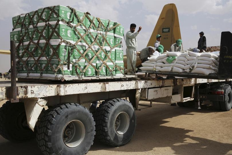 Обхванатата от гражданска война страна често разчита на хуманитарна помощ