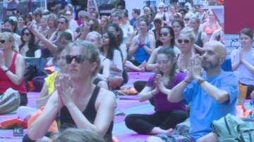 192 държави отбелязаха световния ден на йога