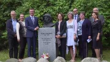 Паметник на Юрий Гагарин в Норвегия