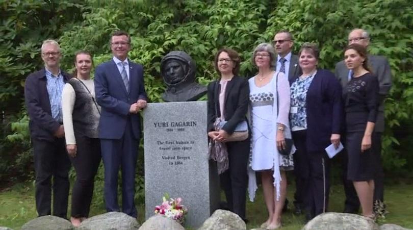 паметник юрий гагарин норвегия