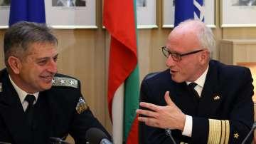 Вицеадмирал Ефтимов: НАТО остава силно ангажиран към сигурността в Черно море