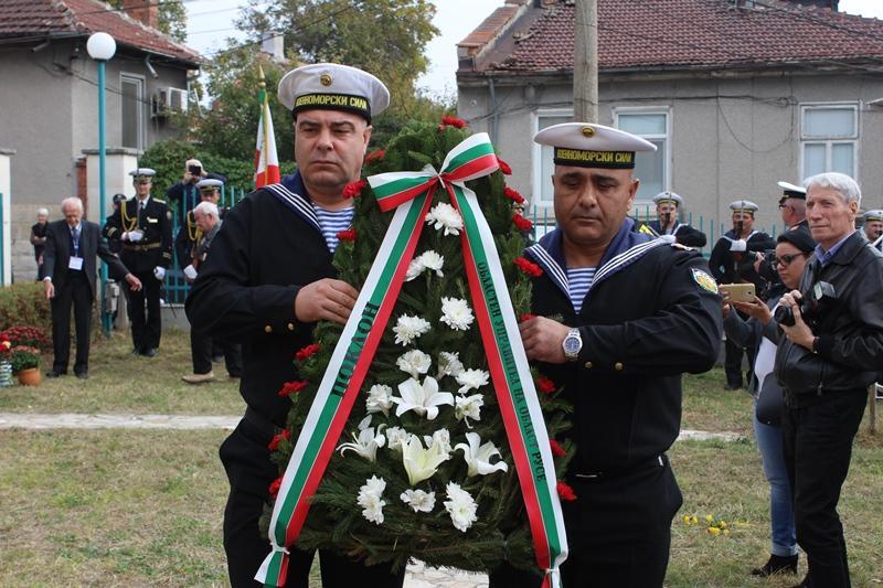 снимка 4 Откриха паметна плоча на първия командир на Дунавската флотилия