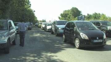 Катастрофирали автобуси затвориха пътя към Созопол почти през целия ден