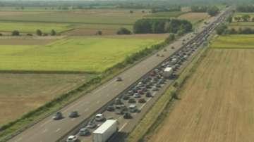 Август започва със 700-километрови задръствания във Франция