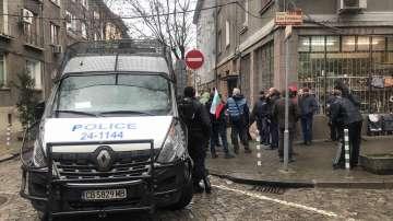 Двама задържани след протестите пред МРРБ