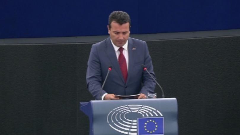 За първи път в историята днес македонски премиер говори пред