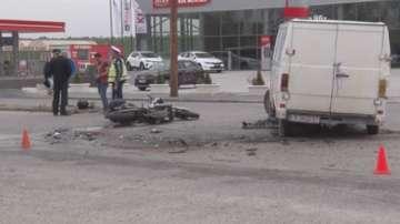 Моторист загина на място при пътен инцидент в Хасково
