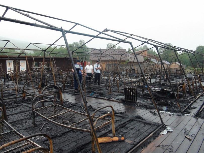 Четири деца загинаха при пожар в планински курорт в руския