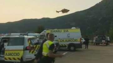 Четирима туристи загинаха след наводненията на остров Корсика