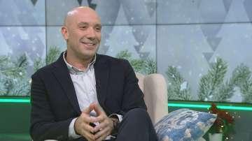Захари Бахаров - гост в първото издание на Извън играта за 2019 година